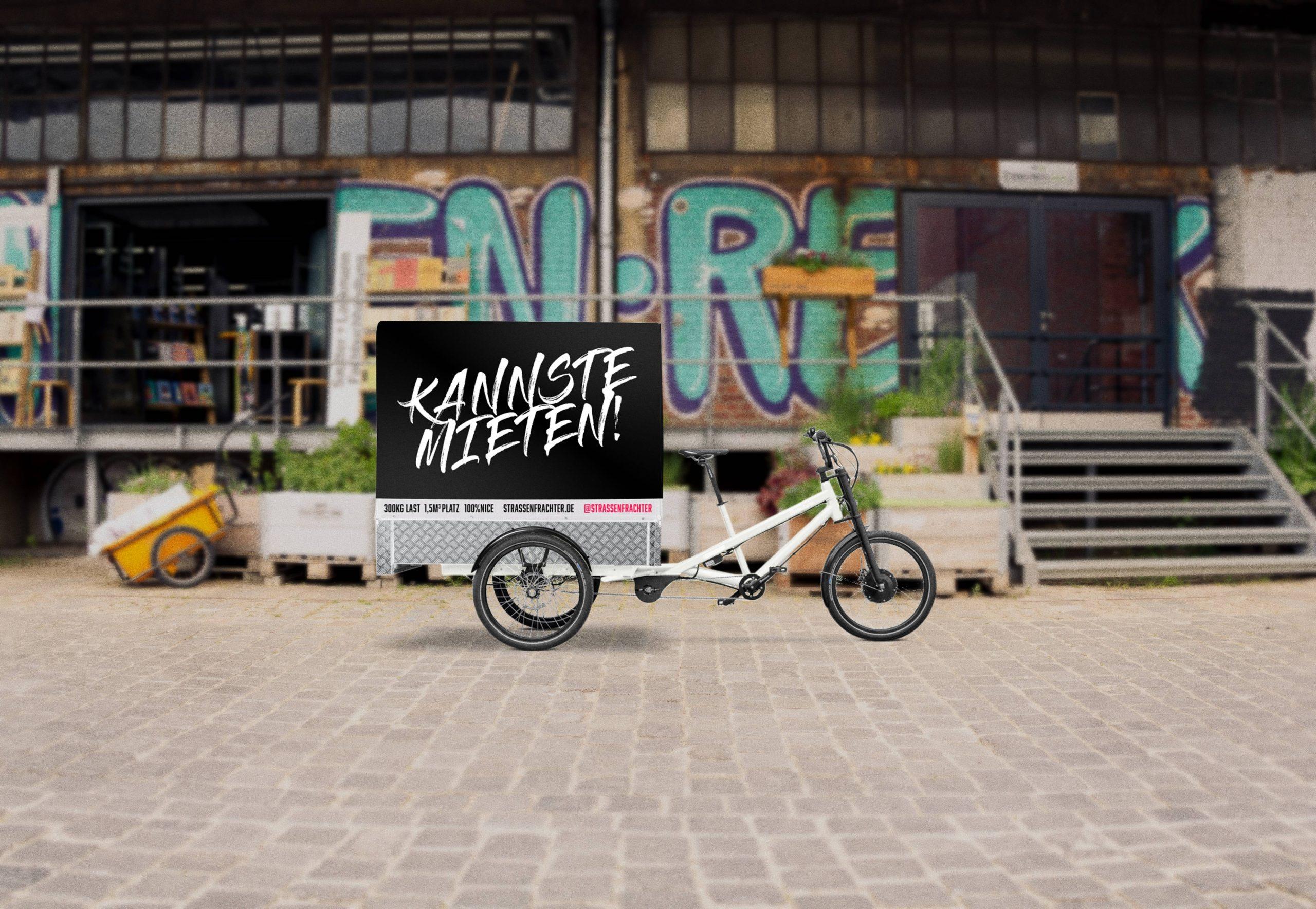 Straßenfrachter Lastenrad Miete Hamburg Corwdfunding